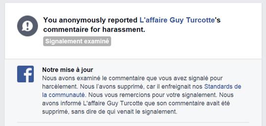 Merci à Facebook